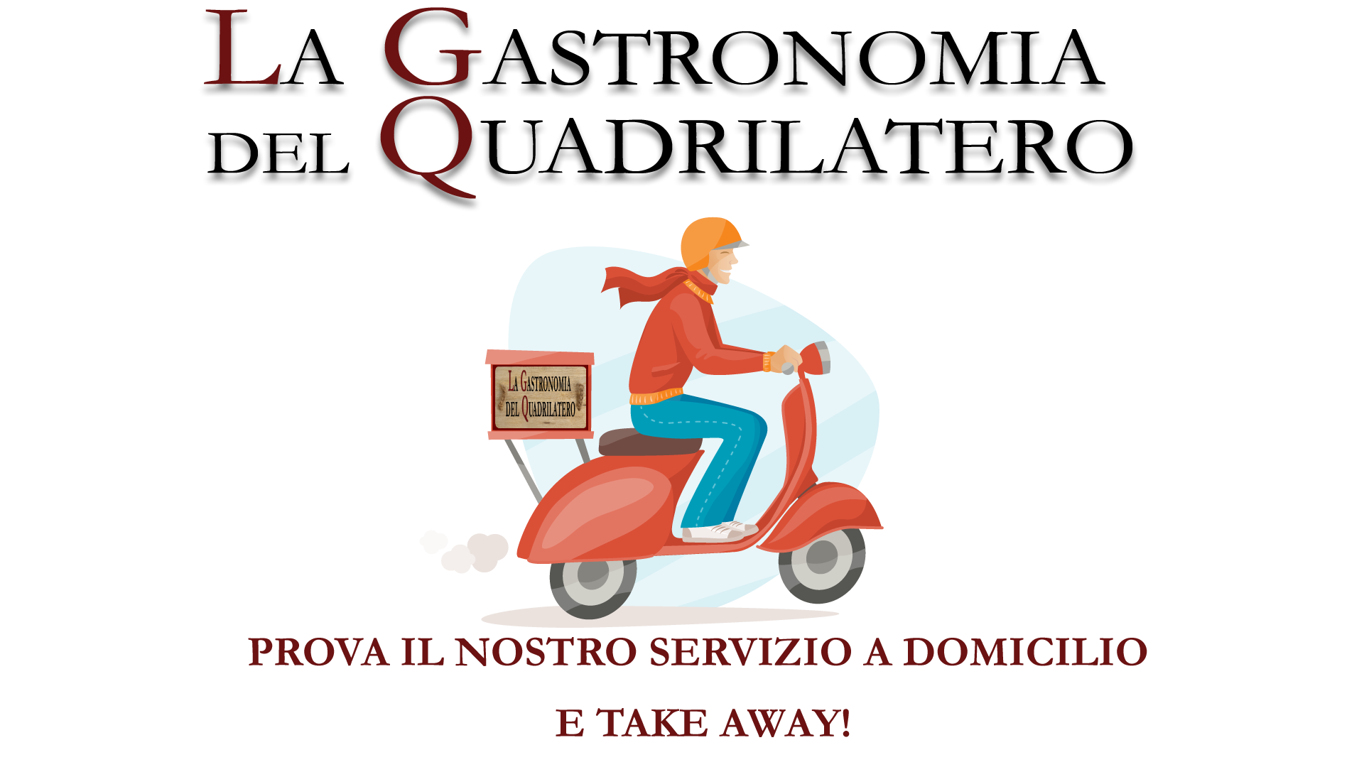 Menù consegna domicilio e Take Away - La Gastronomia del Quadrilatero
